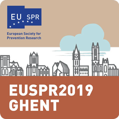 SAVE THE DATE I EUSPR 2019 I GHENT, BELGIUM SEPT 16-18, 2019